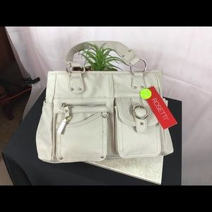 Rosetti Light Gray/Taupe Shoulder Bag